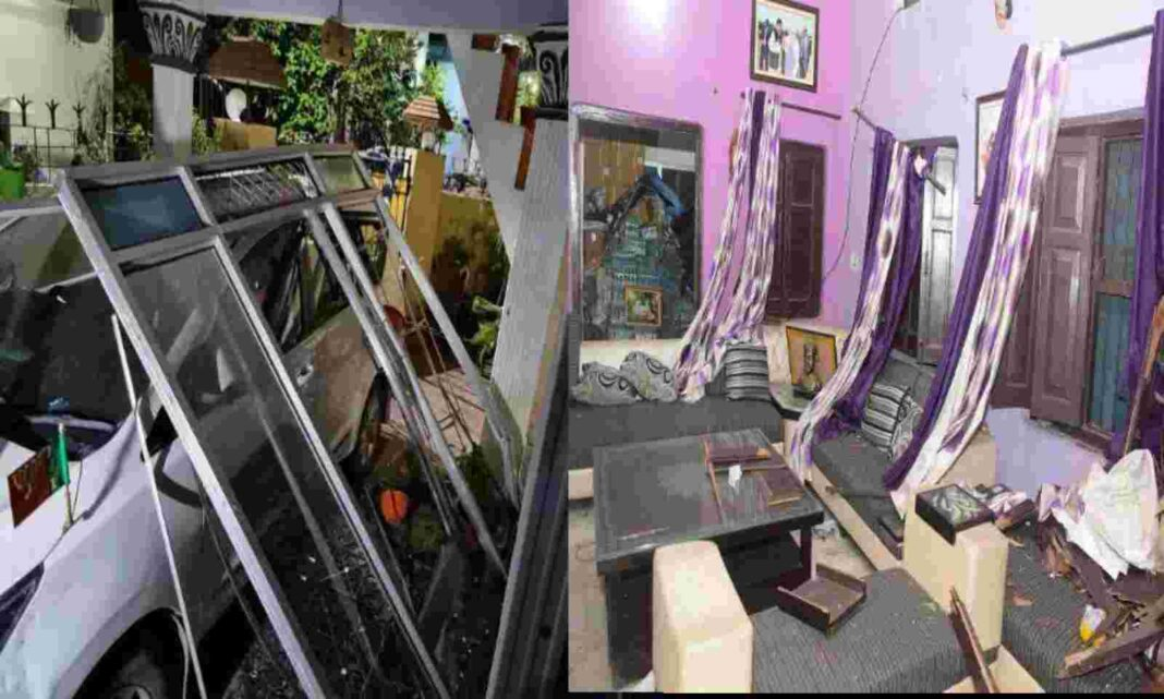 Uttarakhand: देर रात भाजपा जिलाध्यक्ष प्रदीप बिष्ट के घर पर हुआ धमाका