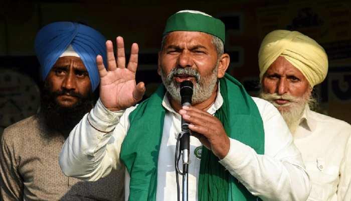 राकेश टिकैत ने BJP और AIMIM पर साधा निशाना, बोले AIMIM पार्टी बीजेपी की 'बी' पार्टी