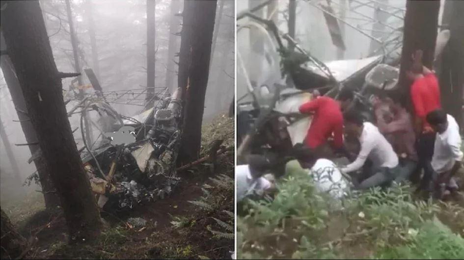 जम्मू में सेना का हेलीकॉप्टर हुआ क्रैश, सवार पायलटों की हालत गंभीर